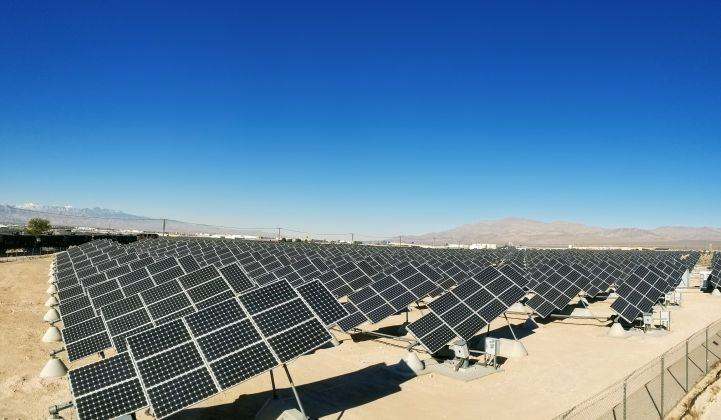 NV Energy Announces 'Hulkingly Big' Solar-Plus-Storage