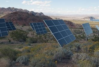 Nevada moves a higher renewable portfolio standard to the governor's desk.
