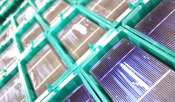 Jinko's American-made modules could enjoy a 15 percent price advantage over imported solar panels.
