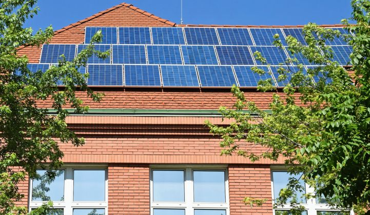 Solar-powered schools have surged over the last decade.
