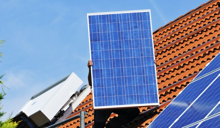 The residential solar sector's performance was most surprising.