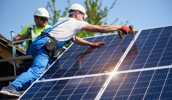 The Solar Energy Industries Association has said the U.S. industry could lose up to half its jobs in certain sectors.