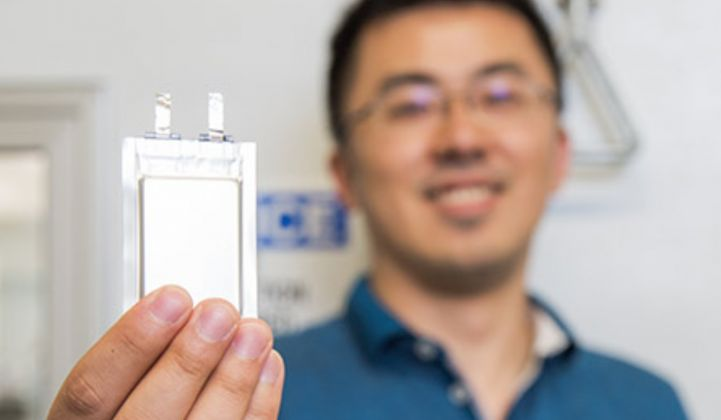 A New Lithium-Metal Battery Takes Flight in Drones