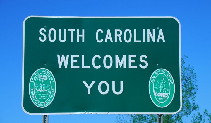 South Carolina Avoids a Battle, Reaches Settlement on Net Energy Metering