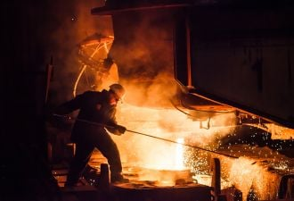 Steelmaking is responsible for around 8 percent of global emissions.