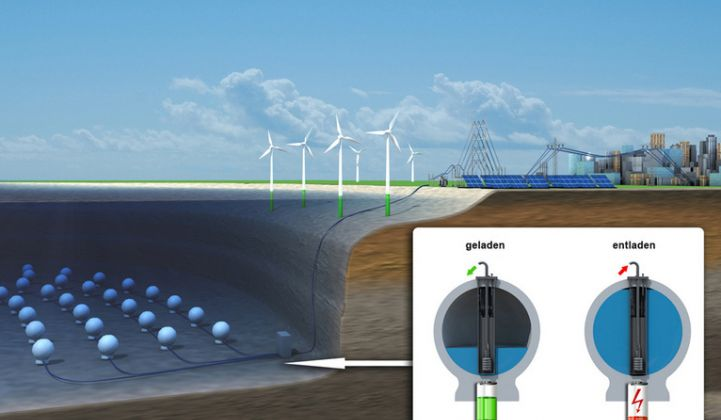 Fraunhofer Tests a New Underwater Energy Storage Concept