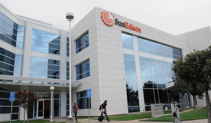SunEdison Moves Closer to Bankruptcy as Federal Officials Investigate the Struggling Solar Company