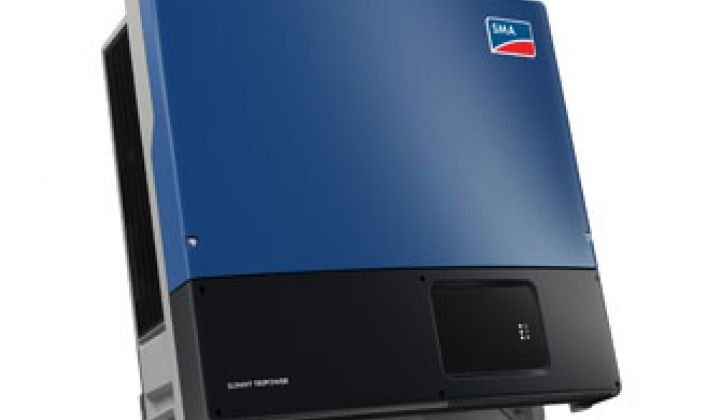 SMA: PV Inverters Can Be Made Grid-Smart for Little Additional Cost