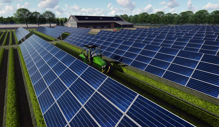 SunPower Reinvents Large-Scale Solar Plants With Drones, Robots and Tomatoes