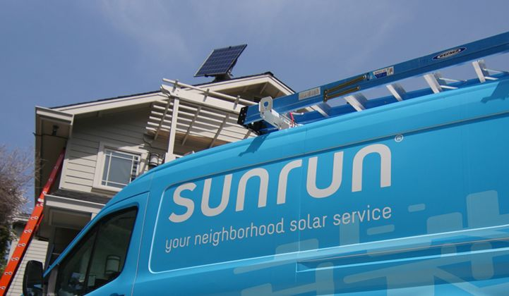 Sunrun Now Owns Solar Systems From Some of Bankrupt Sungevity's Customers