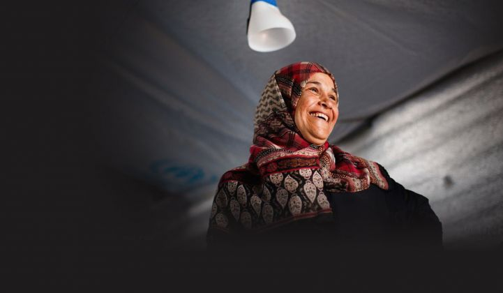Solar Power to Light Up Syrian Refugee Camps in Jordan