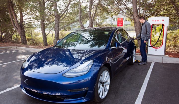 US Electric Vehicle Sales Increased by 81% in 2018 | Greentech Media