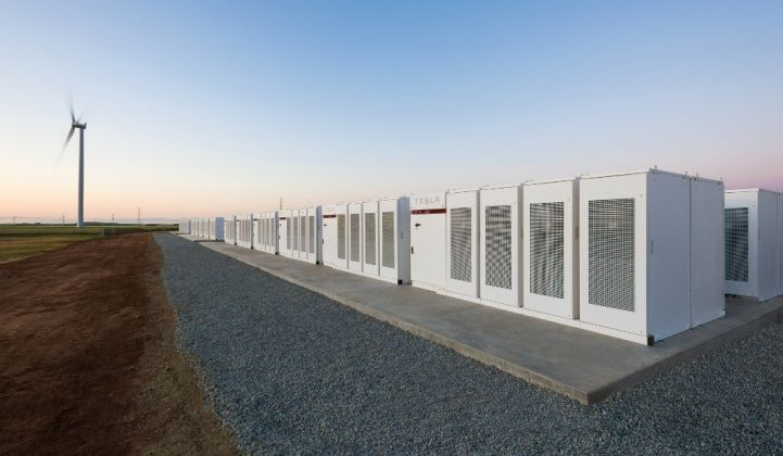 Energy storage represents a huge investment opportunity. (Credit: Tesla)