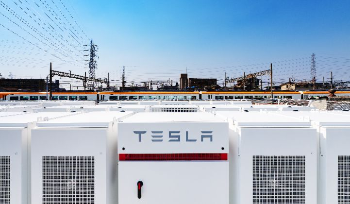 This is Tesla's largest energy storage project in Asia to date.