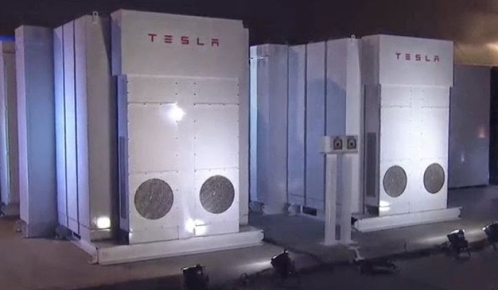 What Advanced Microgrid Solutions Plans to Do With 5,000 Tesla Powerpack Batteries
