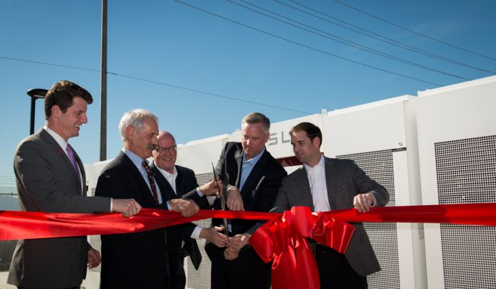 Tesla, Greensmith, AES Deploy Aliso Canyon Battery Storage in Record Time