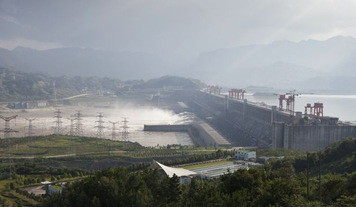 China Is Adding a Three Gorges Dam Worth of Wind Every Year