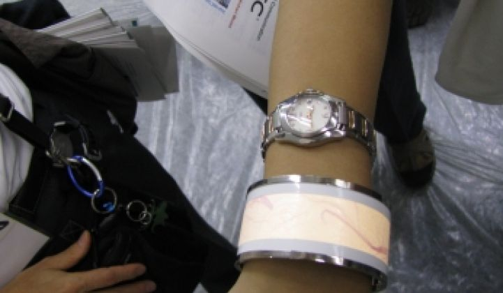 OLED Lights as Jewelry?