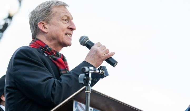 Tom Steyer: A Pandemic Is No Time to Pander to the Fossil Fuel Industry