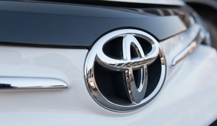 Toyota Invests in Artificial Intelligence for Cheaper Batteries, Electric Cars and Fuel Cells