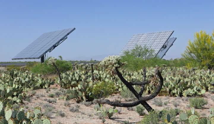 Arizona is in the middle of a new skirmish over renewable energy policy.