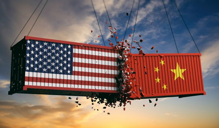 The U.S.-China solar supply chain is encumbered by a variety of tariffs.