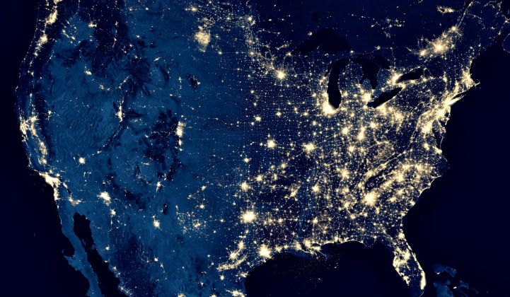 The latest report on reaching net-zero carbon by 2050 breaks down the potential benefits on a state-by-state basis. (Credit: NASA)