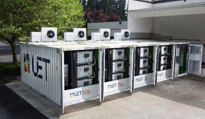 UniEnergy Brings Next-Gen Vanadium Flow Battery to Commercial Scale