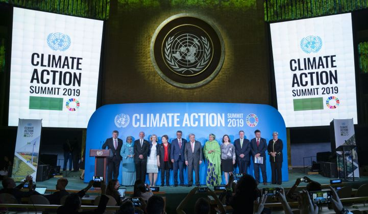 World leaders assembled last week at the U.N.'s high-profile Climate Action Summit.