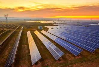 Large scale solar plants will bring more new capacity online this year than any other electricity source.