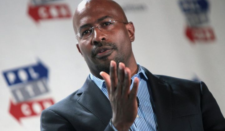 Watt It Takes: Van Jones Reflects on the Origin of Green Jobs
