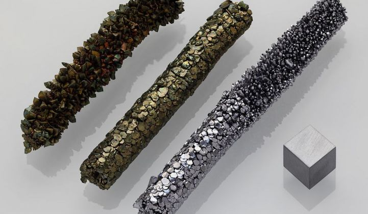 Imergy Uses Recycled Vanadium to Cut Materials Costs for
