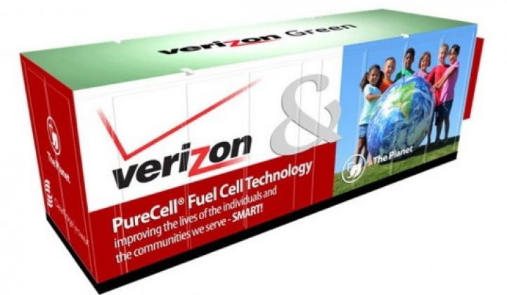 Verizon's $100M Fuel Cell and Solar Power Play