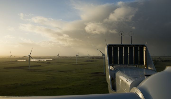 Will the global wind market rebound in 2020? (Credit: Vestas)