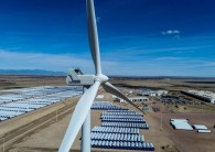 Vestas operates factories on four continents and services 90 GW of wind projects.