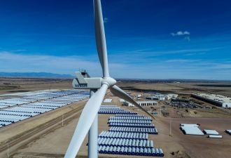 Vestas is among the largest U.S. wind manufacturers, with several factories in Colorado.