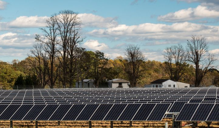 The Spotsylvania solar plant will be built in Virginia, which has embraced a 100 percent clean power target.
