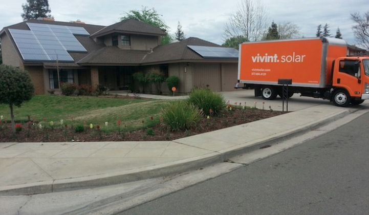 Installation growth is not a problem for Vivint Solar.