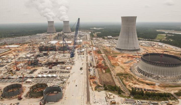 Georgia Power's Vogtle nuclear power plant under construction