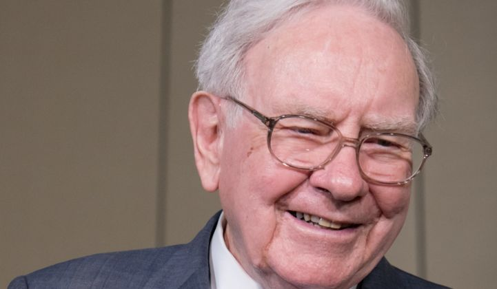 Warren Buffett: Solar and Wind Could 'Erode the Economics of the Incumbent Utility'