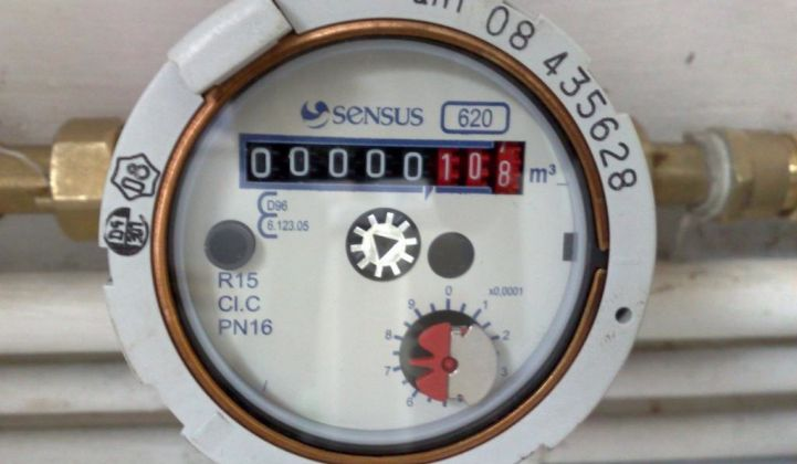 Report: $2B in US Smart Water Meters by 2020