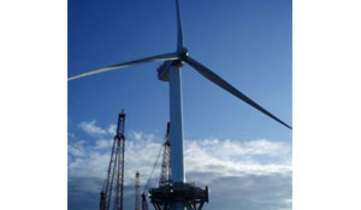 When Oil Rig Met Wind Turbine