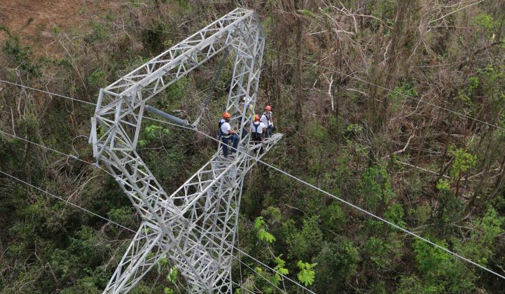 Whitefish Energy workers repairing power lines in Puerto Rico will soon have their contract scrapped.