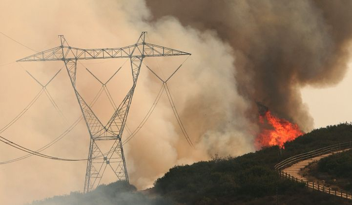 Californians are looking for someone to blame for the destructive wildfires. Is it utilities?