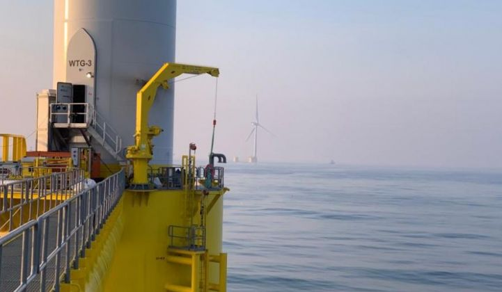 Japan is one of the world's most promising markets for floating offshore wind. (Credit: EDPR)