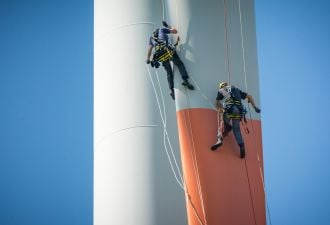 Wind Turbine Makers Face a Growing Threat to Lucrative Service Deals: Their Customers