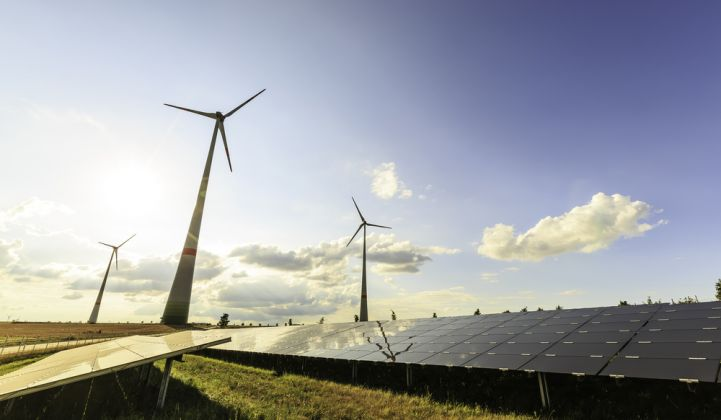 Among the proposed changes: up to 97 percent of electricity from renewable sources by 2050.
