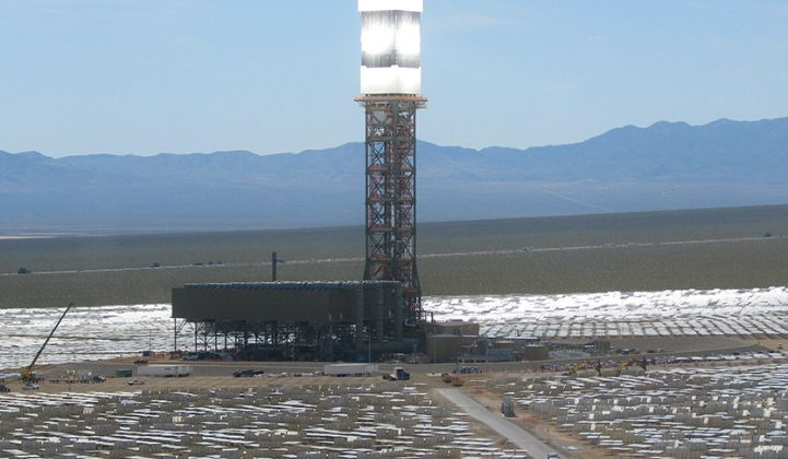 This Map Explains Why the Ivanpah Solar Plant Is Performing Worse Than Expected