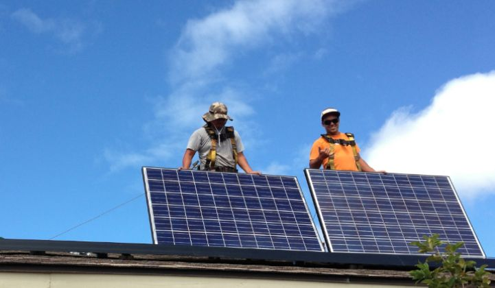The Growth Rate of Rooftop Solar in Hawaii Hangs in Limbo
