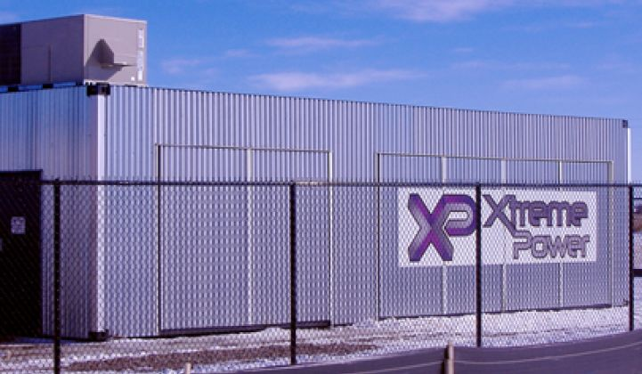 Xtreme Power Catches Up With the Big Players in Grid Storage